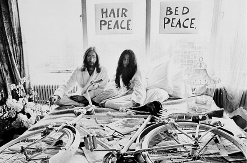 Hair peace. Bed peace.